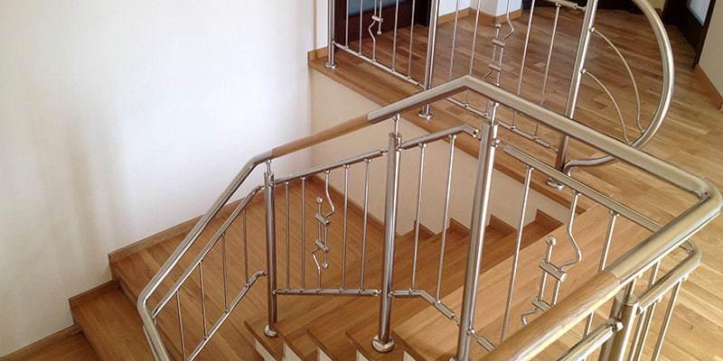 Balustrade inox pentru interior