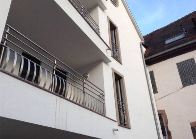 Balcon Apartament - Balustrade Inox
