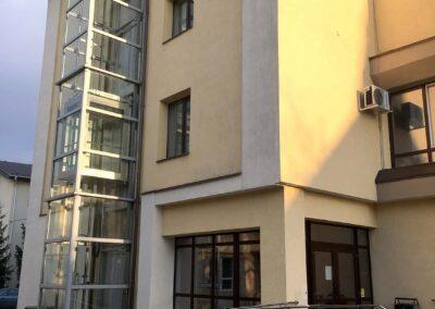 Balustrada Scara Exterioara Inox - Universitatea Stefan cel Mare, Suceava