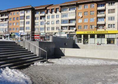 Balustrade Inox - Centrul Civic, Suceava