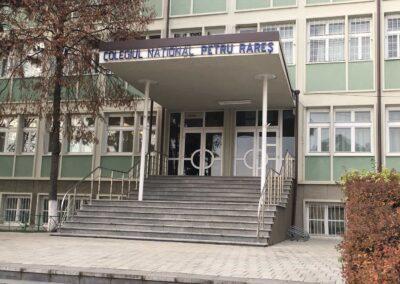 Balustrade Inox - Colegiul National Petru Rares, Suceava