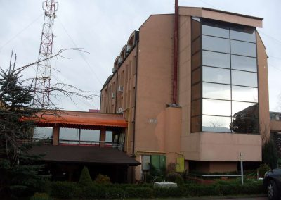 Balustrade Inox - Hotel Zamca, Suceava
