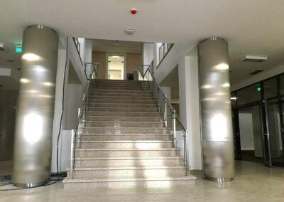 Balustrade Inox Sticla - Muzeul Judetean de Istorie, Suceava