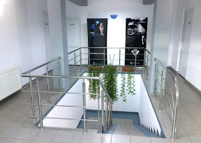 Balustrade Inox Interior - Scania Suceava