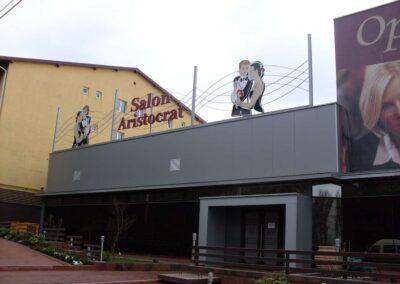 Gard Exterior Fier - Hotel Aristocrat Suceava
