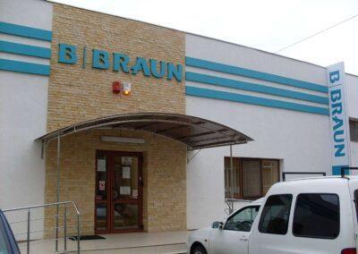 Scari Acces Inox - Centrul de Dializa B. Braun Suceava