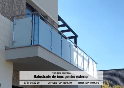 Balustrade inox exterior
