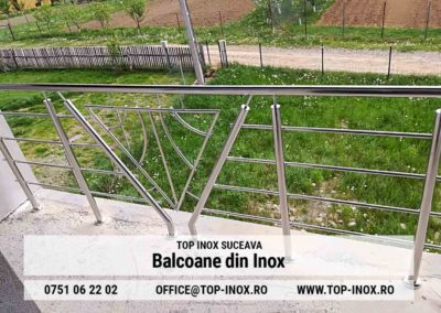 Balcoane din Inox Burdujeni