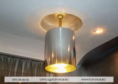 Lampa Inox Fălticeni