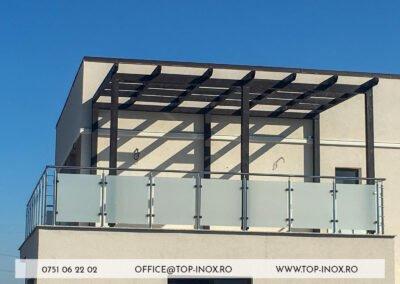 Balustrada Balcon Inox Fălticeni