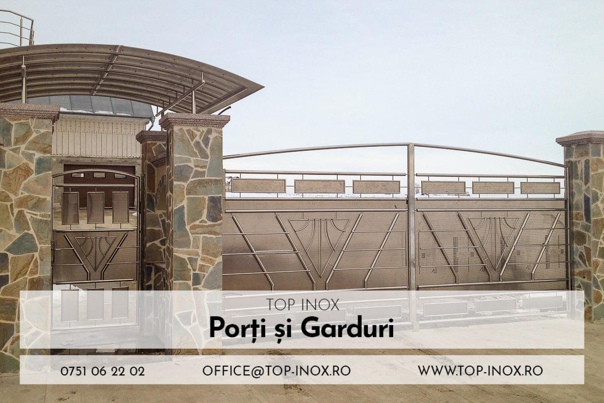 Porți și Garduri Inox