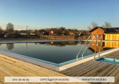 Scară pentru piscine din inox Fălticeni
