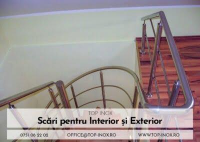 Scări și balustrade din inox